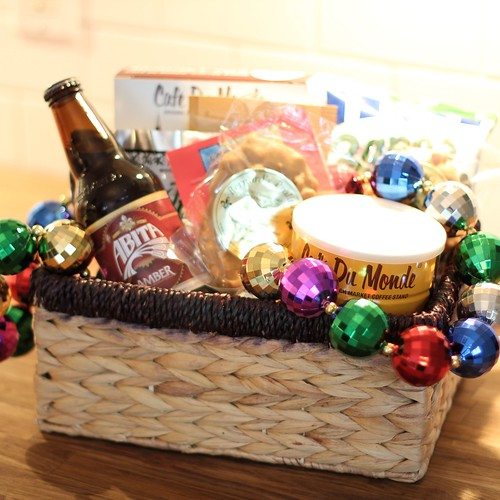 A Gift Basket Of Thanks With A Nola Twist Old Town Home
