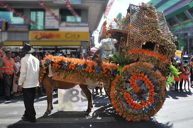 Laoag Pamulinawen Festival 2013 Calesa Parade