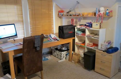 My workspace by Samantha Halliwell