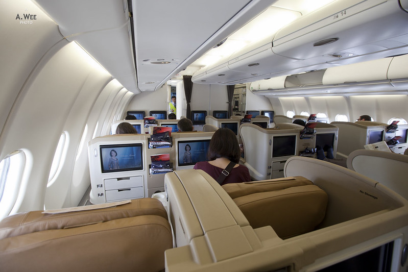 SQ Airbus Business Class