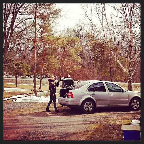 Mar 16 - 'A' {ARRIVAL of my daughter & boyfriend for a weekend visit} #photoaday