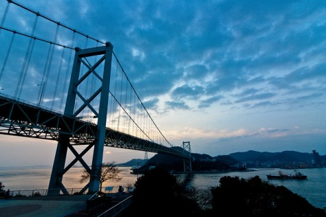 The Kanmon Bridge