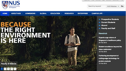 Marcus Chua webpage