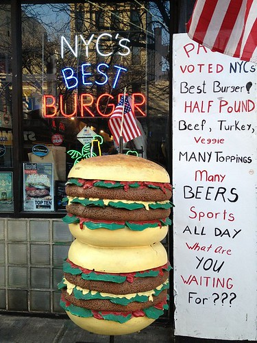 Best Burger Sign