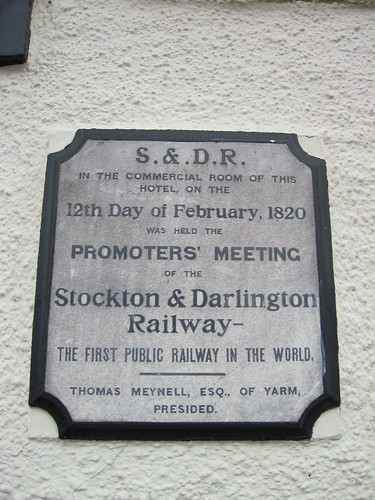 Stockton and Darlington Railway, Yarm