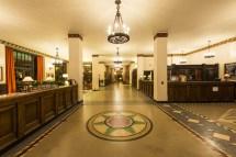 Shining Overlook Hotel Lobby