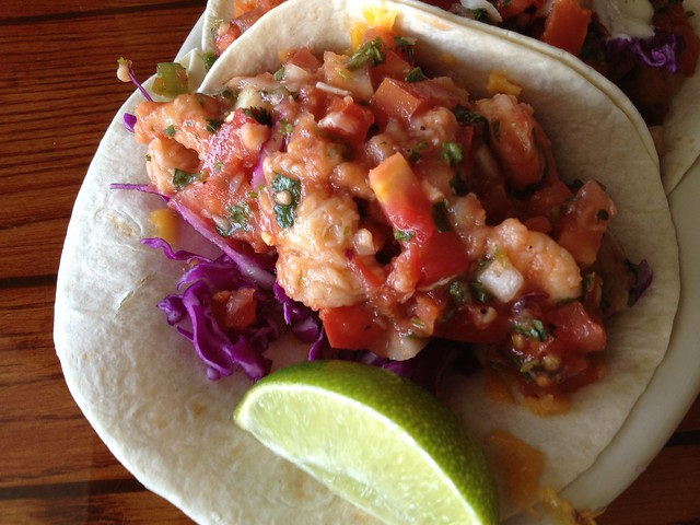 Ceviche taco - South Beach Bar & Grille