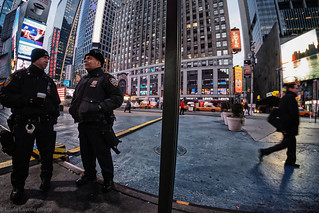 Time out sur Times Square