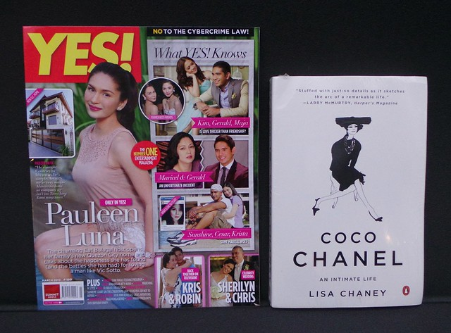 Yes mag and Chanel
