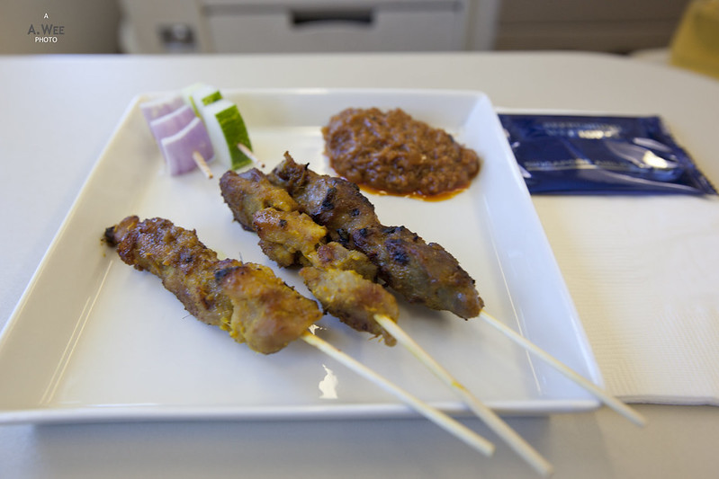 Satay before the Meal