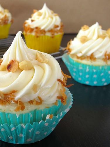 Macadamia nut cupcakes