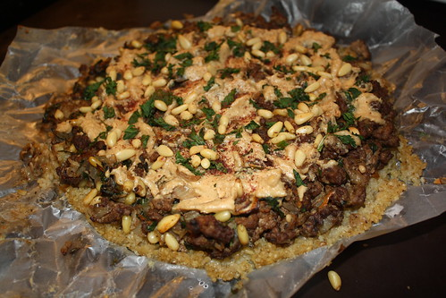 Open Kibbeh Pie