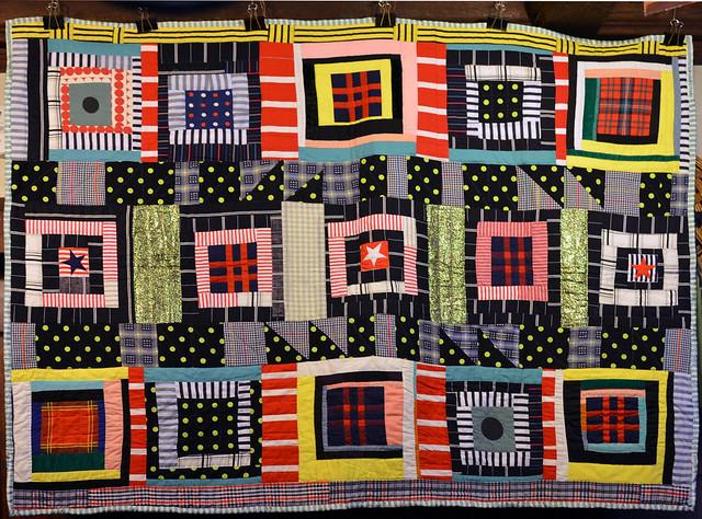 improv quilt by Eli Leon