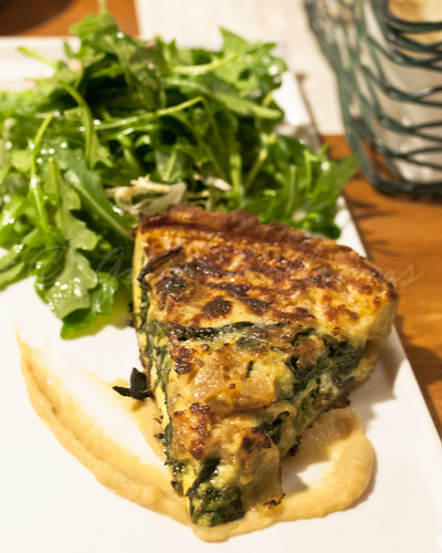 Quiche and Salad