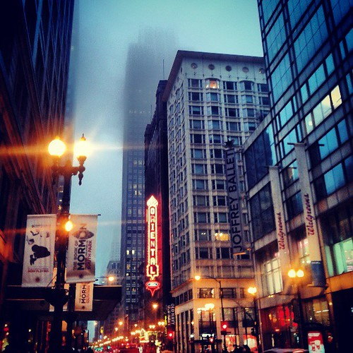 Another gloomy day in Chicago