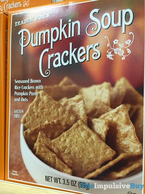 Trader Joe's Pumpkin Soup Crackers