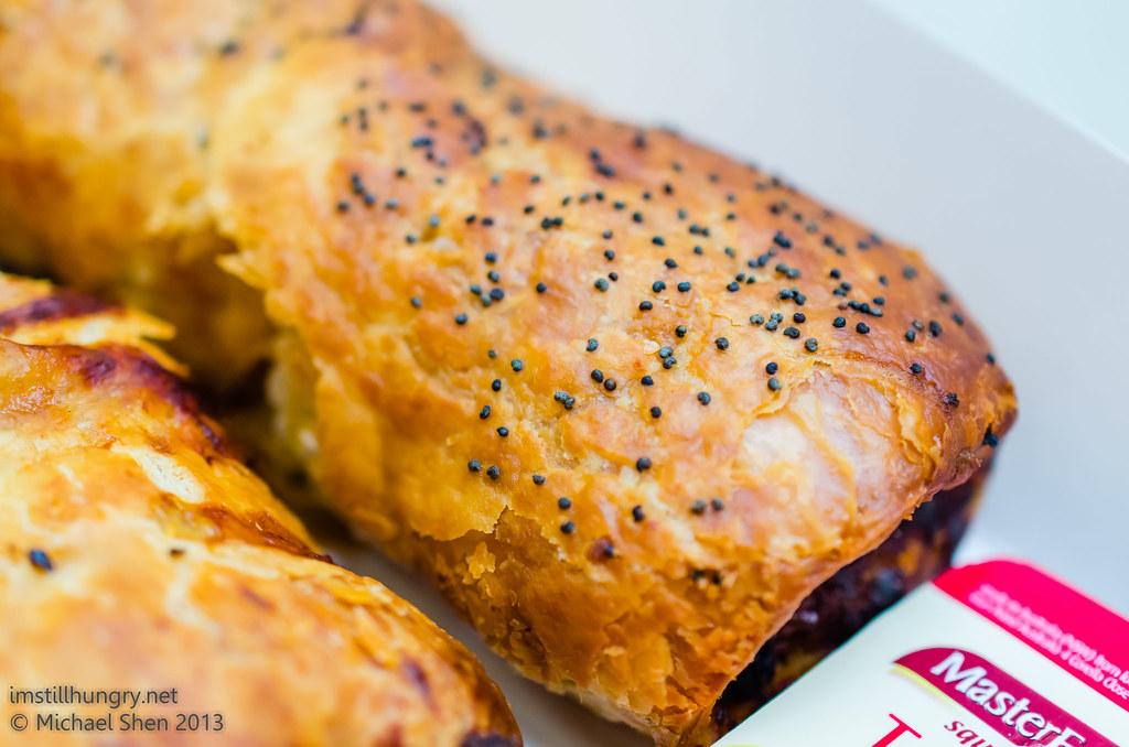 Bourke St Bakery - Lamb, Almond & Harrisa Sausage Roll