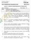 DTU: Question Papers 2012 - 6 Semester - End Sem - AE-314