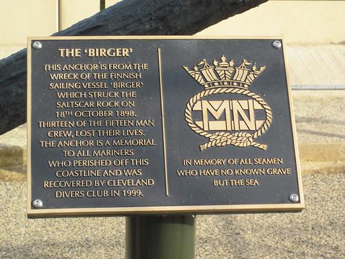 Birger |Anchor, New Location, Redcar.