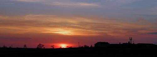 Another Highfields Sunset