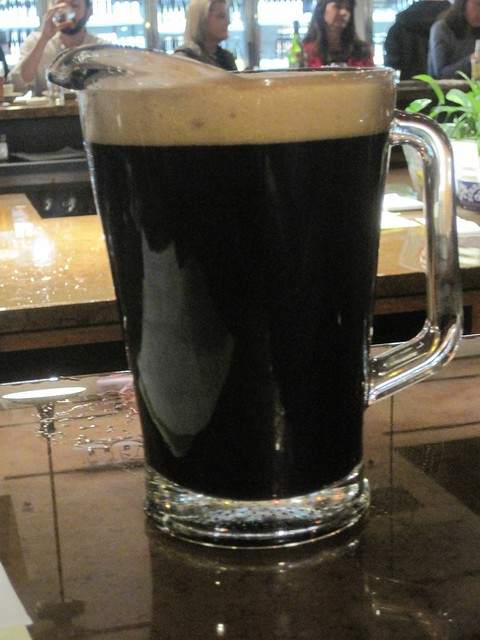 Bier Stein draft beers are now available in pitchers too. All the better to enjoy a round of Ninkasi Vanilla Oatis Stout.