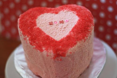2013 02 Heart Cake