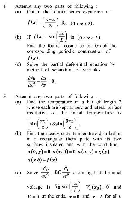 UPTU B.Pharm Question Papers TAS-204 - Mathematics-II (Special Carryover Examination)