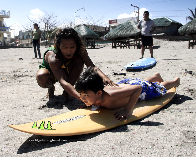 Surfing Lessons in Bagasbas Beach Daet Camarines Norte