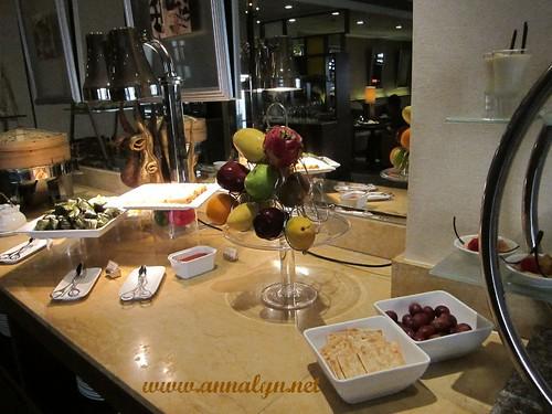 food at Executive Lounge