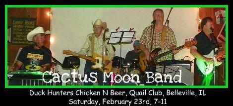 Cactus Moon Band 2-23-13