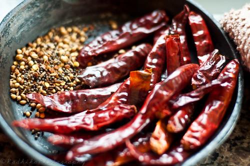 Spices for Tomato Thokku
