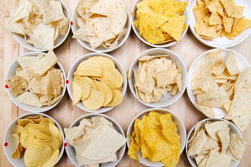 Tortilla chip tasting