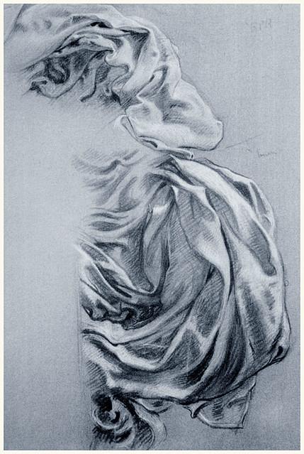 Study for Juno's Cloak in Prospero, 1903