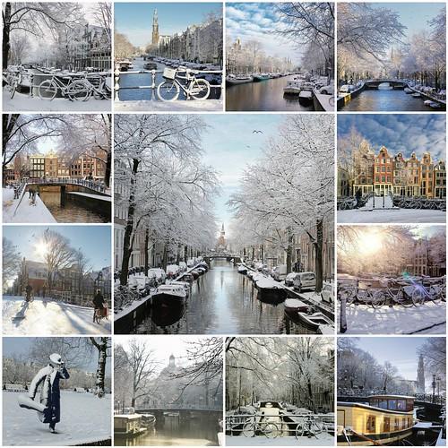 Winter in Amsterdam