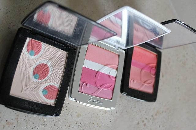 Guerlain Blush G Sakura Cherry Blossom Blush swatch and review2