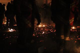 Chienbäse 2013 - der Boden glüht