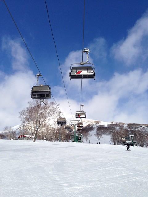 Skiing in Annupuri