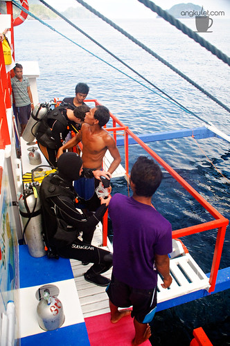 Diving with Submariner - El Nido, Palawan
