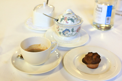 Coffee with mignardise