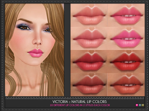 Victoria Natural Lip Colors