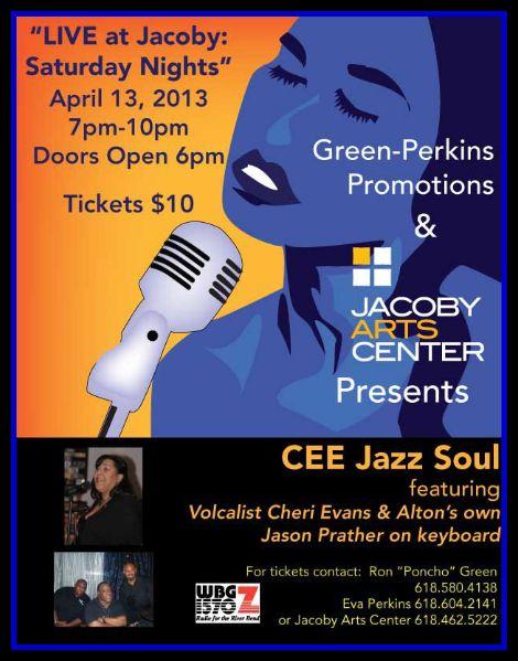 CEE Jazz Soul 4-13-13