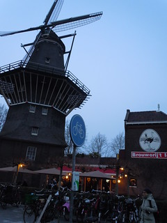 Brouwerij 't or Brewery in a Windmill