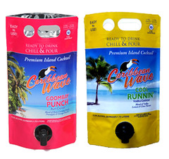 Caribbean Wave Premium Island Cocktail Pouches