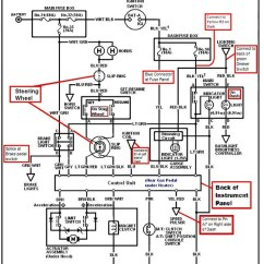 1990 Honda Fourtrax 300 Wiring Diagram Alto Car Electrical Crx Schematic For Data Today Ford Thunderbird