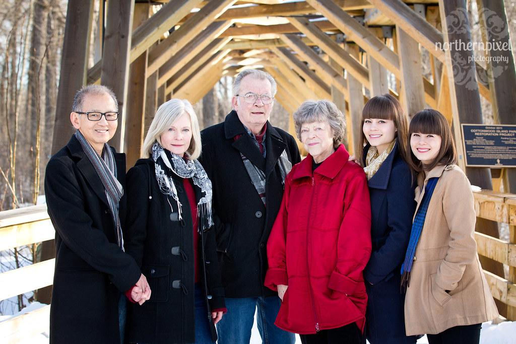 Winter Family Photos Prince George BC