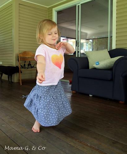 Tiered Skirt (4)