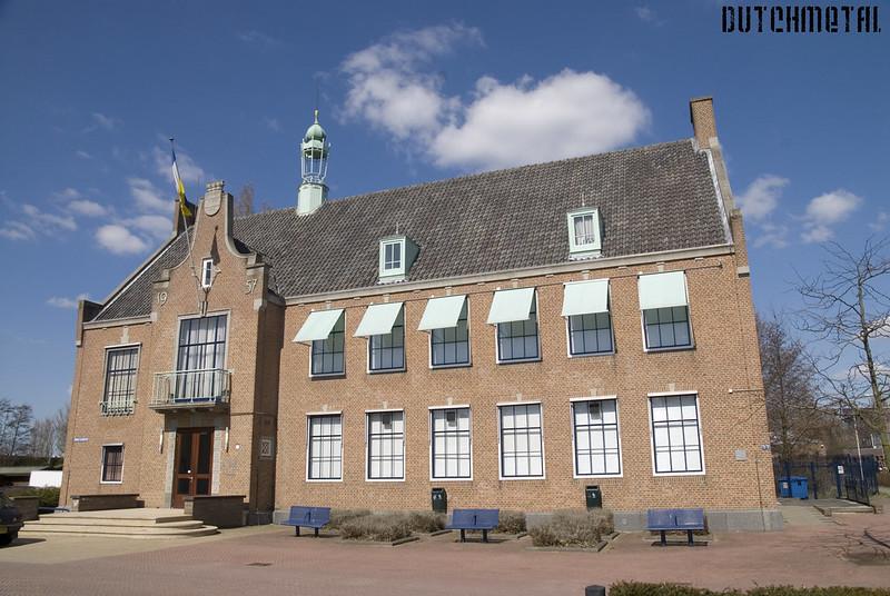 Het oude gemeentehuis van Spijkenisse
