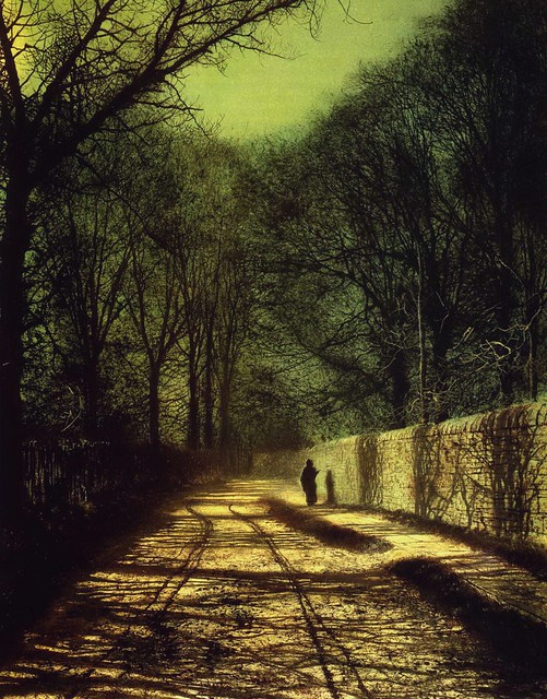 Tree Shadows on the Park Wall, Roundhay Park, Leeds, 1872