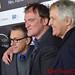 Dennis Christopher, Christoph Waltz, Franco Nero, Quentin Tarantino, Pascal Vicedomini DSC_0255