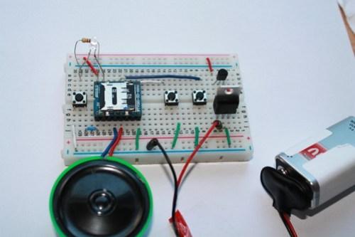 MP3 mode circuit
